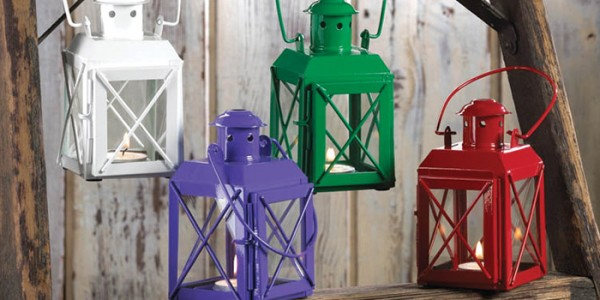 Railway Candle lamps